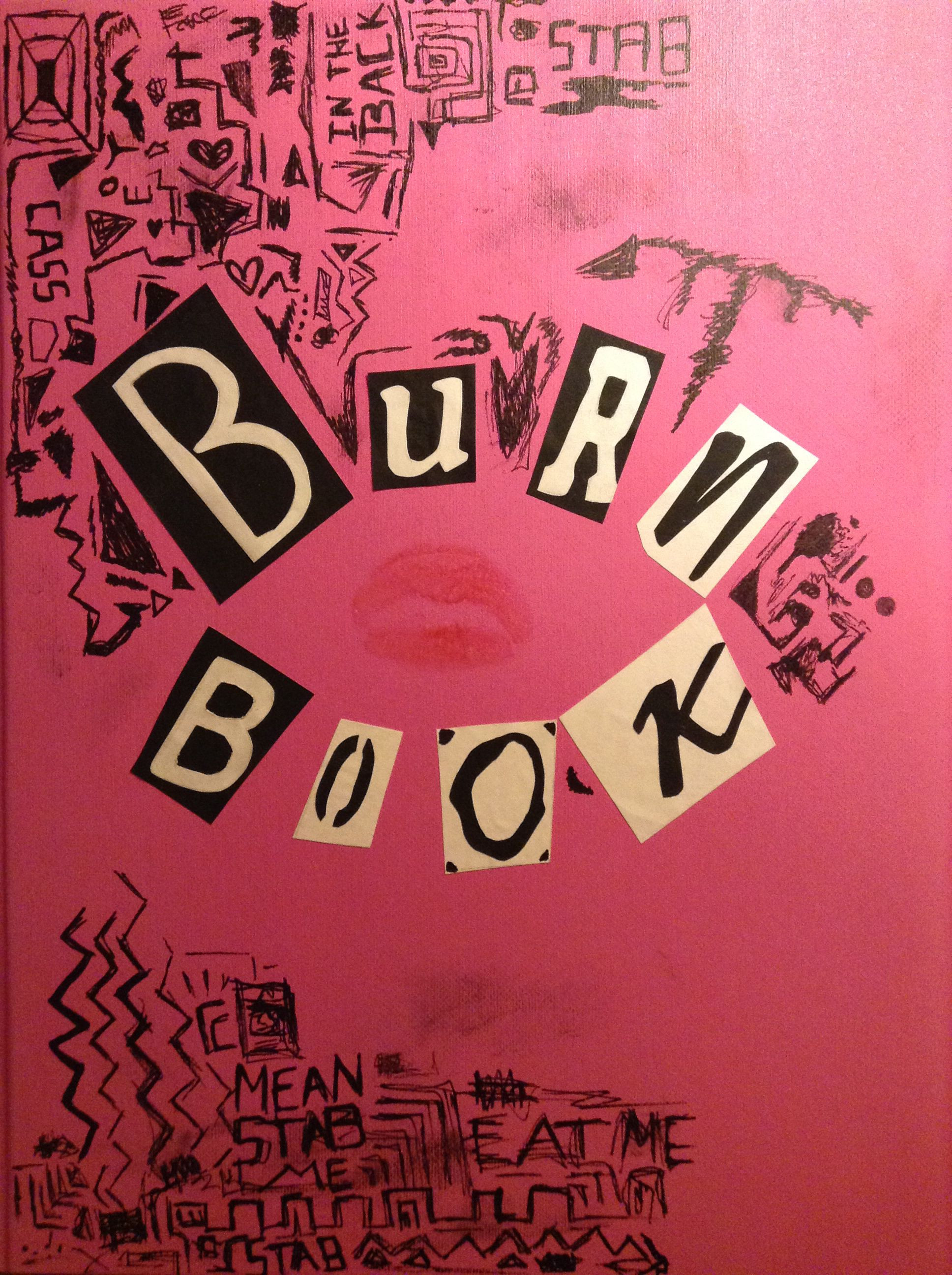 Diy Meaning  diy hand made burn book from mean girls