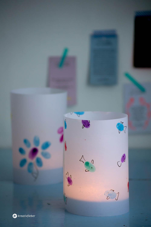 Diy Mit Kindern  DIY Windlicht aus Kinderbildern