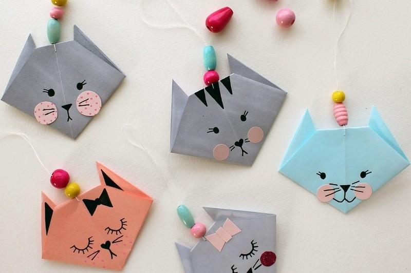 Diy Mit Kindern  Basteln mit Kindern 100 Origami DIY Projekte