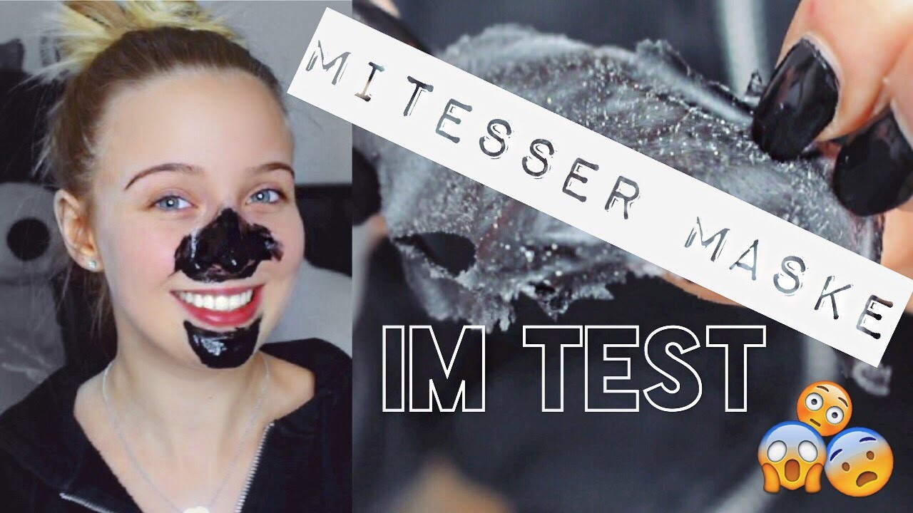 Diy Mitesser Maske  MITESSER MASKE IM TEST SabrinaMloves