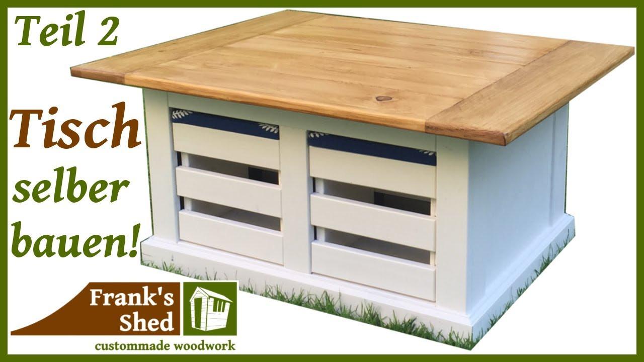 Diy Möbel Anleitung  DIY Möbel selber bauen Tisch mit Stühlen