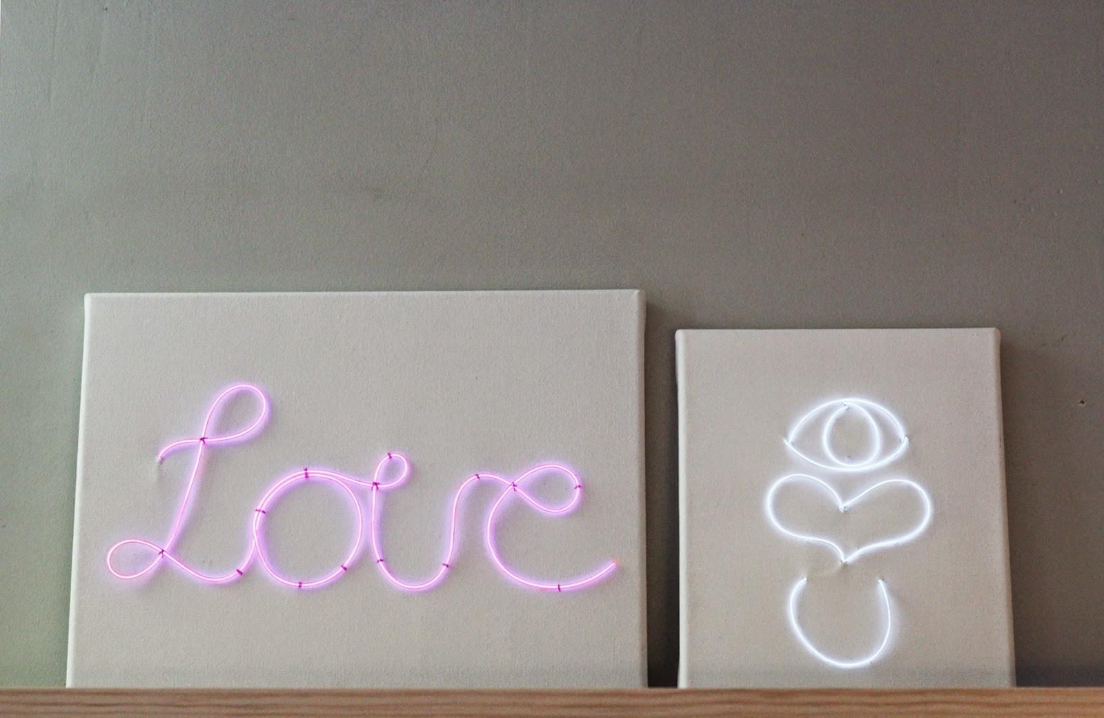 Diy Neon Sign  Nest DIY Neon Love Sign