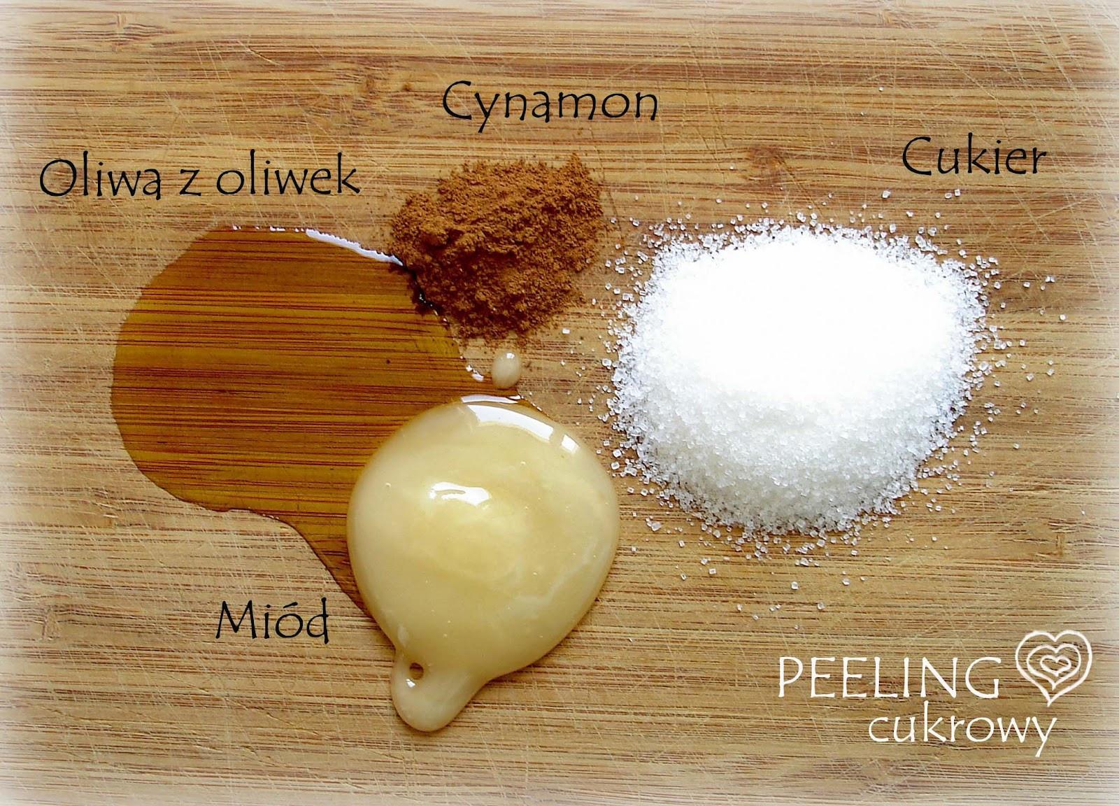 Diy Peeling  zielona figa DIY peeling cukrowy cynamonowy