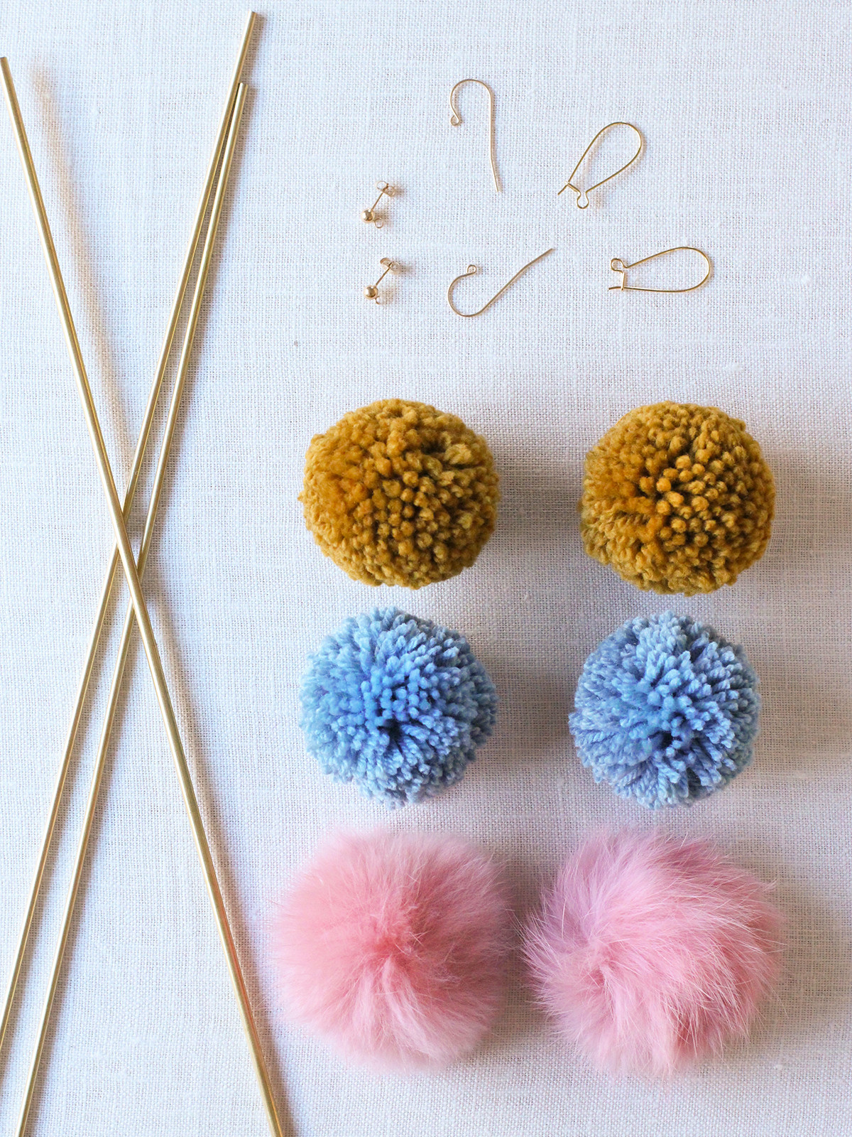 Diy Pom Poms  DIY Pom Pom Earrings – Honestly WTF