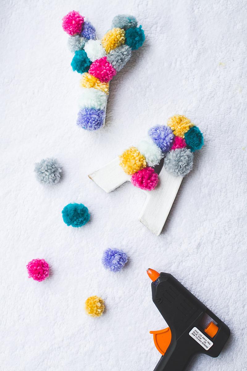 Diy Pom Poms  10 Fun Pom Pom DIYS The Crafted Life