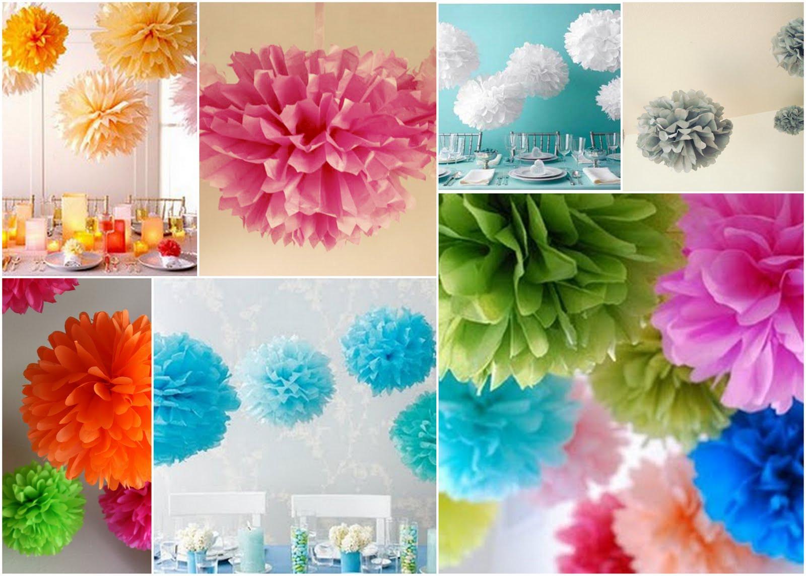Diy Pom Poms  DIY or Don t Tutorial DIY Tissue Paper Pom Poms