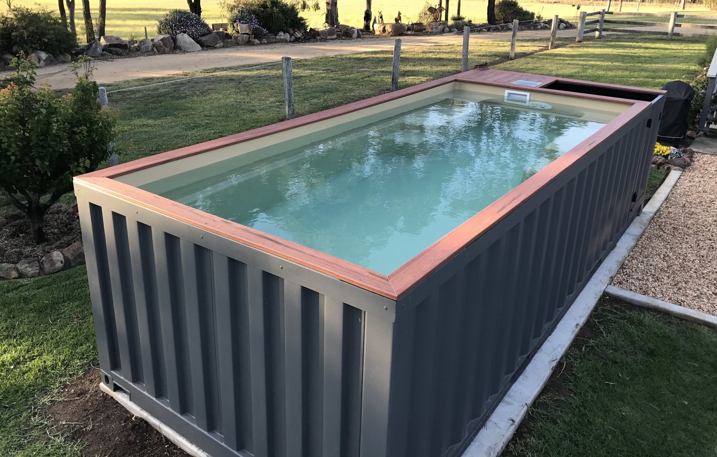 Diy Pool  The DIY Shipping Container Swimming Pool Buy a Shipping