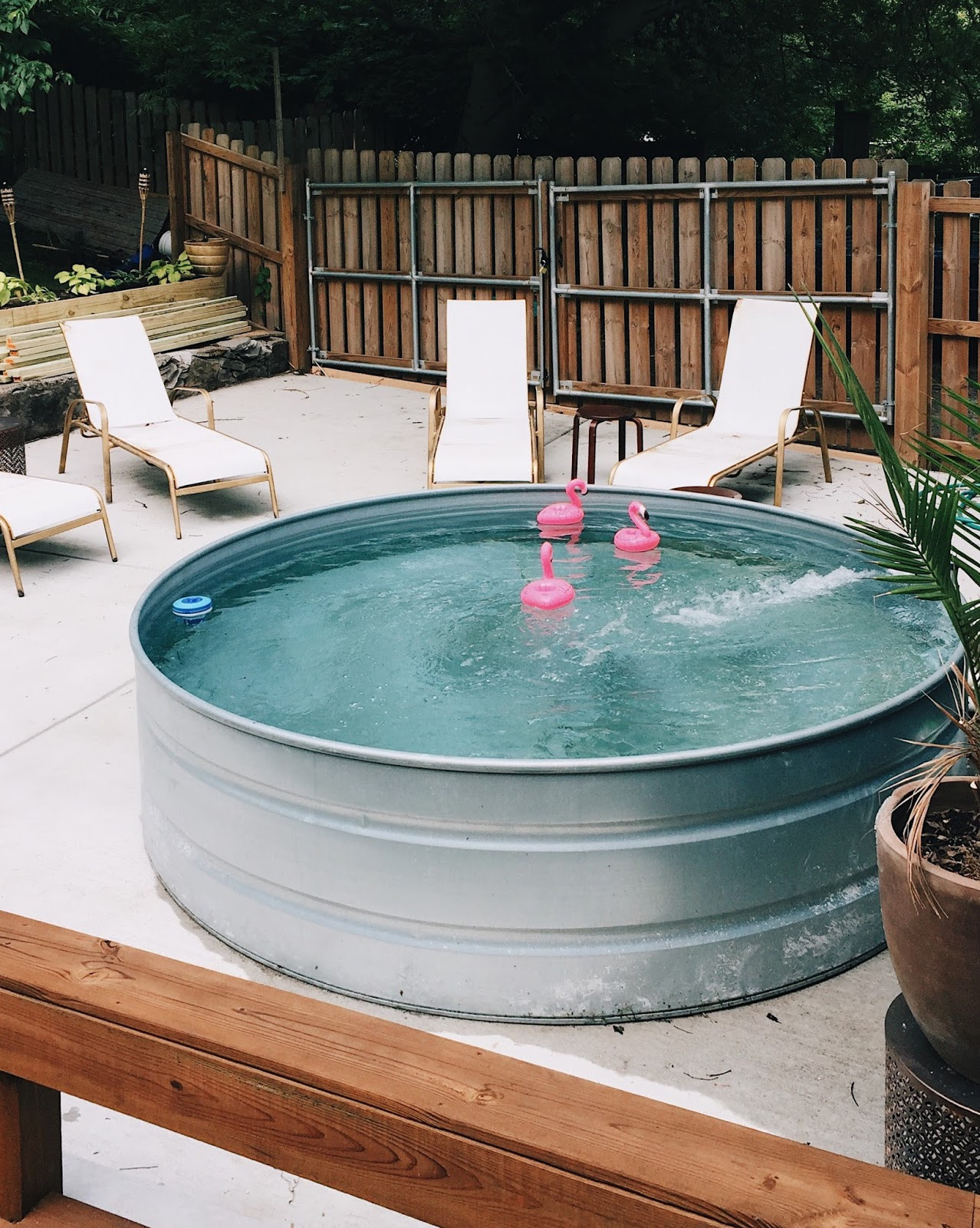 Diy Pool  DIY Stock Tank Pool Everything you need to know