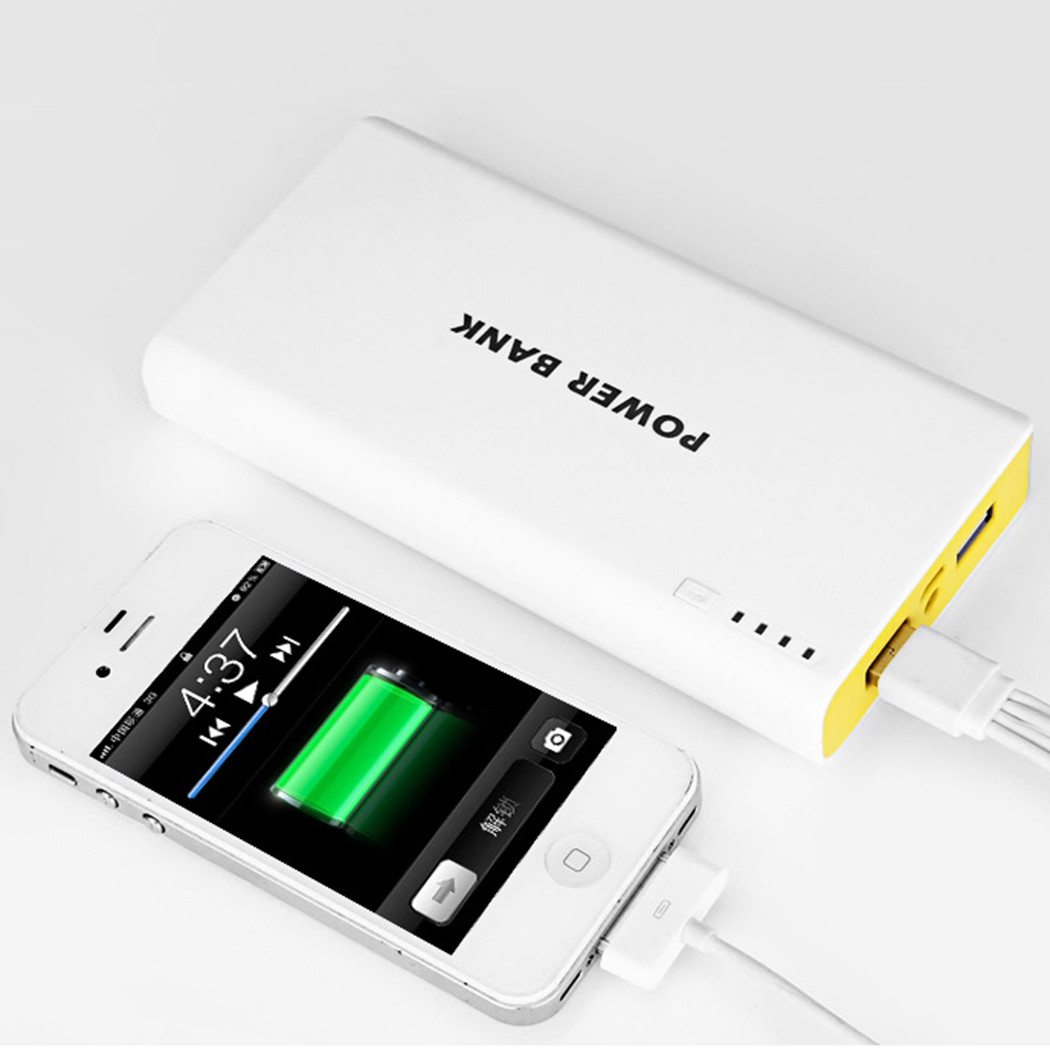 Diy Powerbank  Power Bank Case Kit 4x Lithium Battery Charger USB