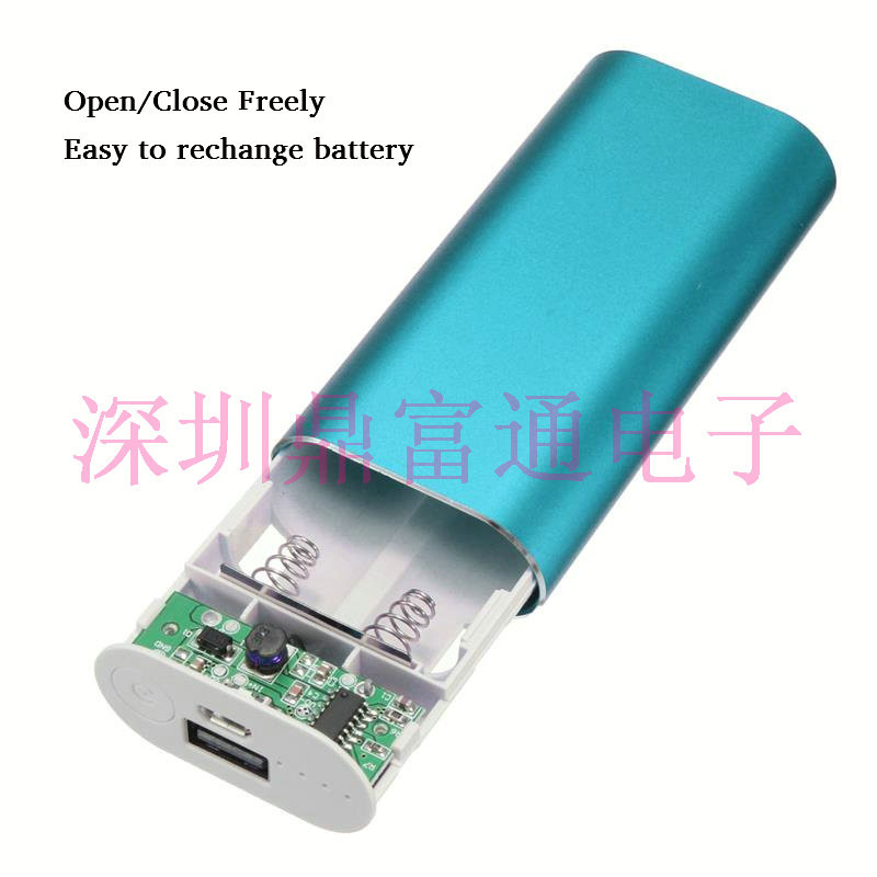 Diy Powerbank  no battery new Portable Universal USB 2X 2 Battery