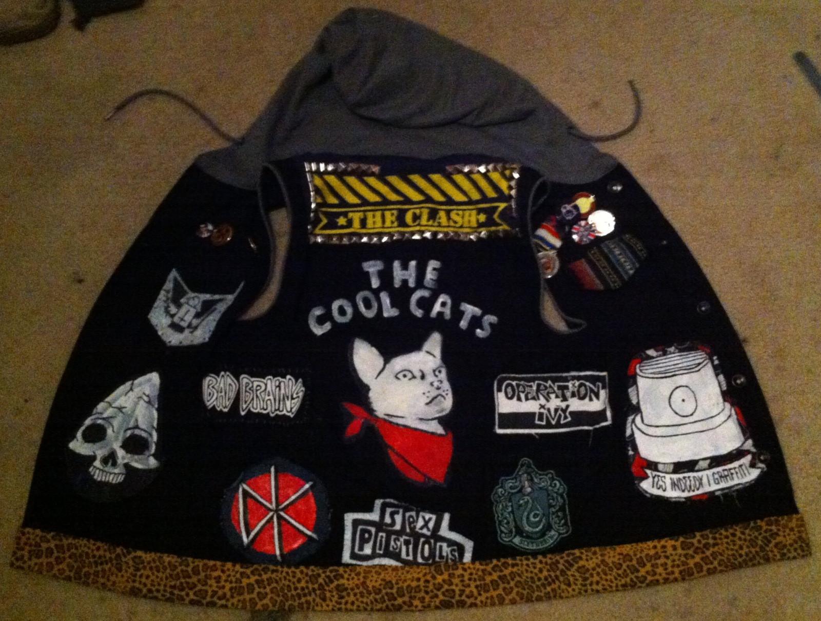 Diy Punk  SHOW ME YOUR DIY PUNK CLOTHES