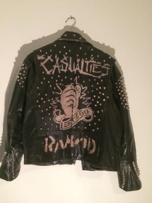 Diy Punk  diy punk jacket