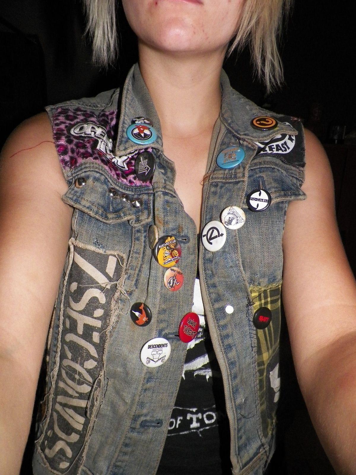 Diy Punk  Diy Punk Vest Punk DIY Custom Clothes Pinterest