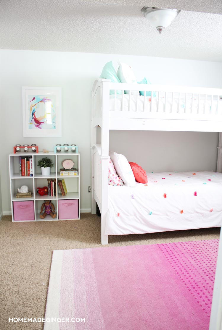 Diy Room  Girls Bedroom Reveal DIY Room Decor Homemade Ginger