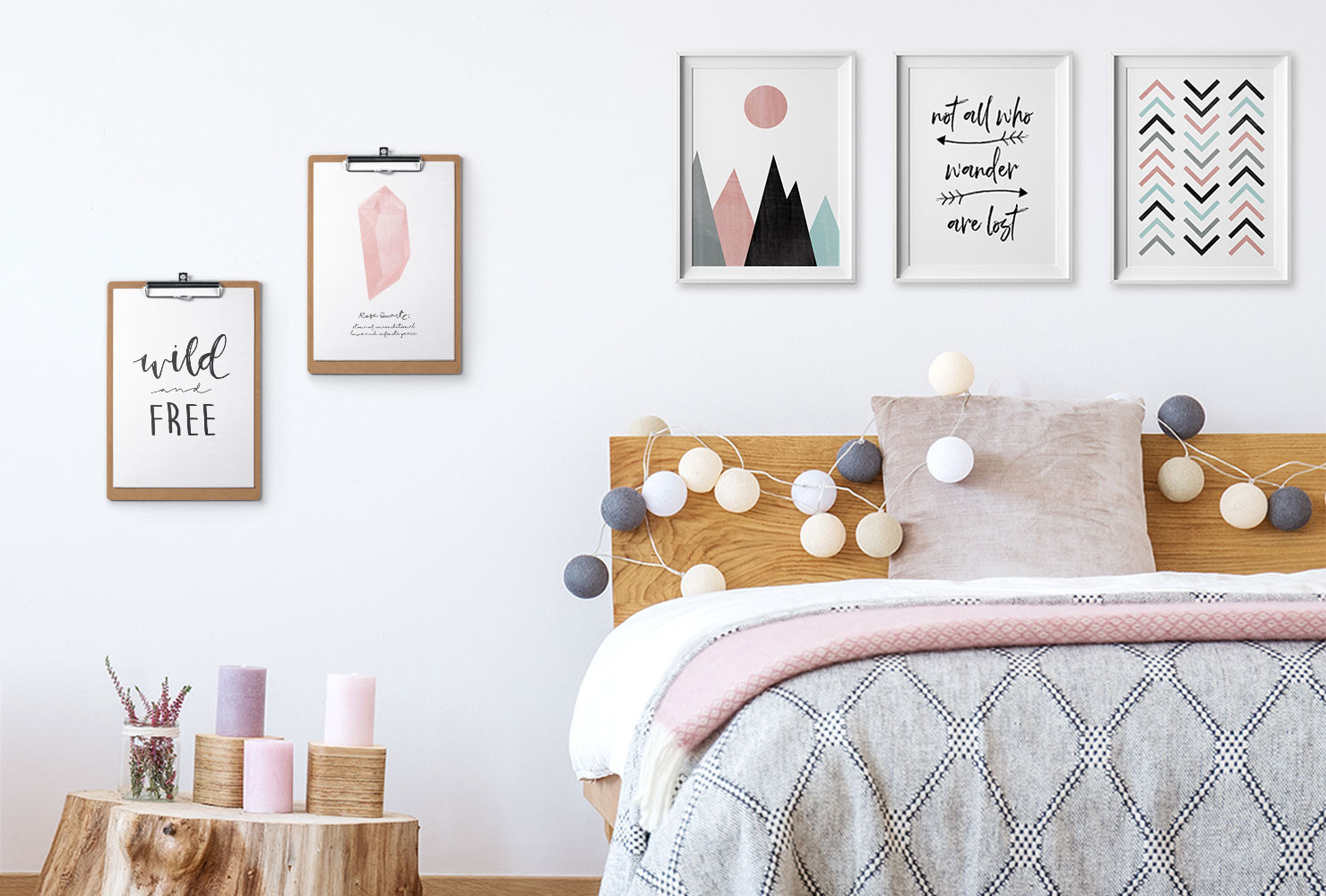 Diy Room  24 DIY Bedroom Decor Ideas To Inspire You With Printables
