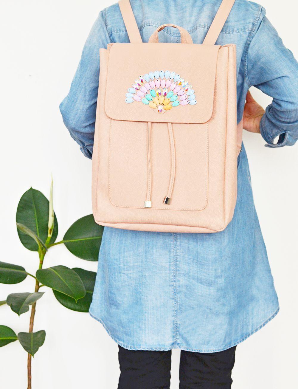Diy Rucksack  DIY Crystal Backpack