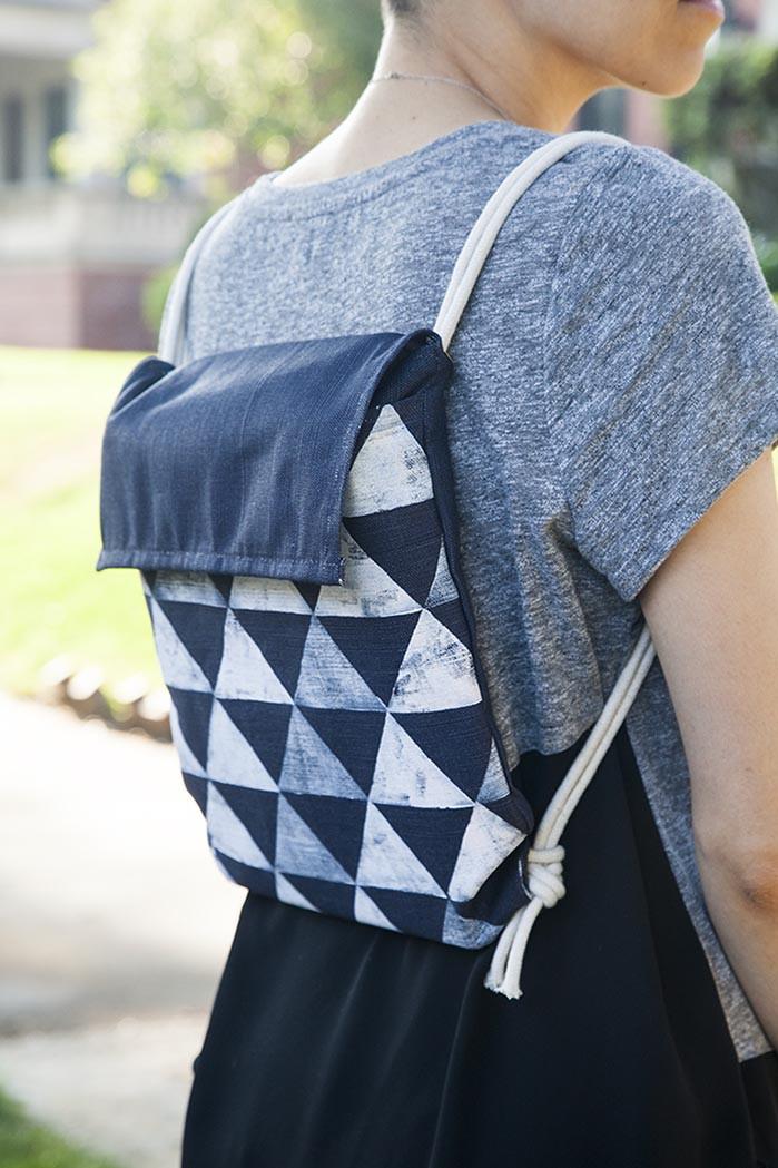 Diy Rucksack  Back to School DIY Minimalist Backpack – Design Sponge