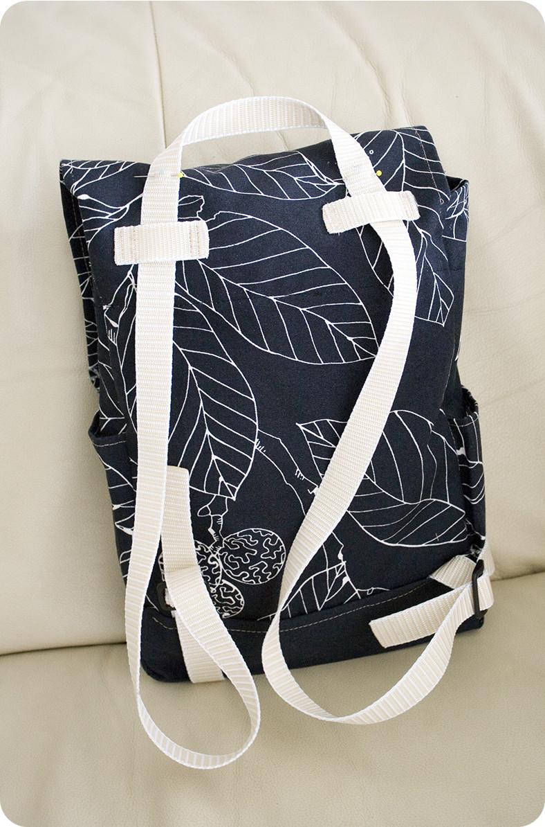 Diy Rucksack  Convertible DIY Mini Backpack Kerrywill Studio