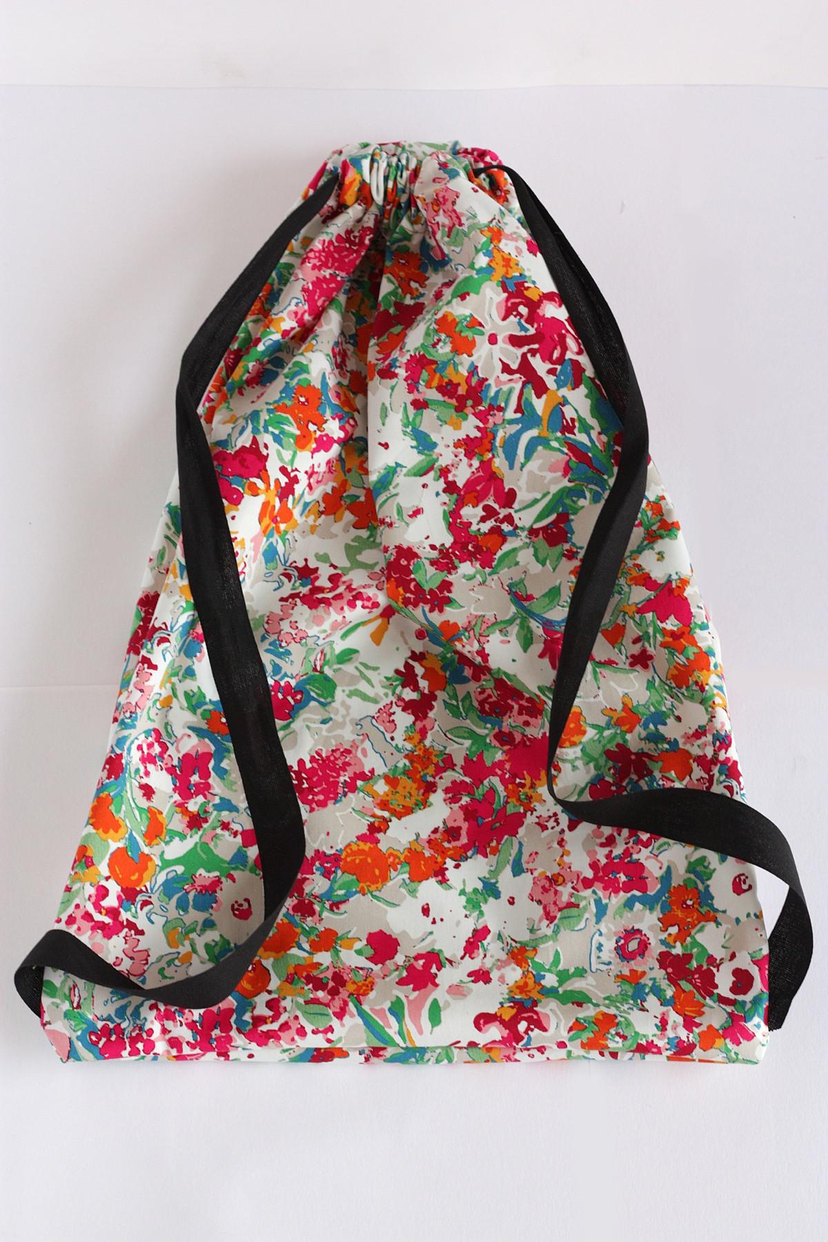 Diy Rucksack  DIY Drawstring Backpack
