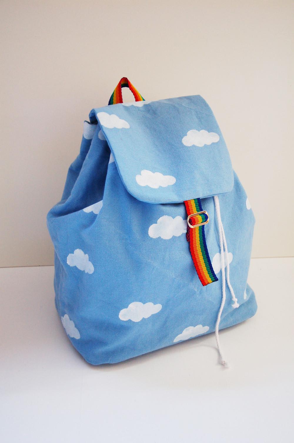 Diy Rucksack  13 Trendy and Affordable DIY Backpacks
