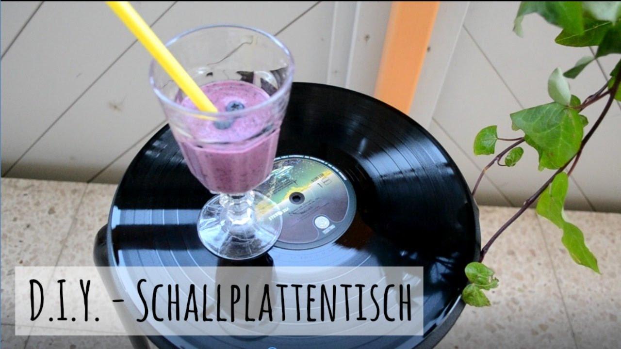 Diy Schallplatten  DIY Schallplatten upcycling