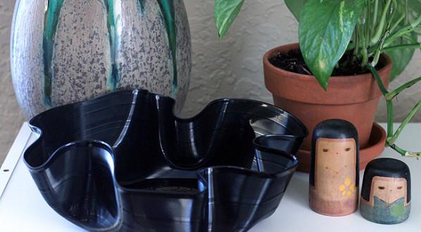 Diy Schallplatten  DIY Schale aus Schallplatte fresHouse