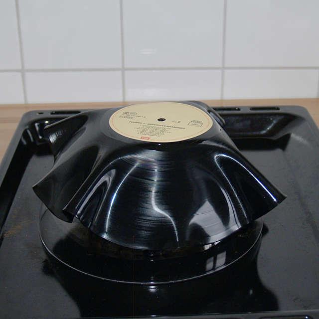 Diy Schallplatten  Schallplattenschale selber machen