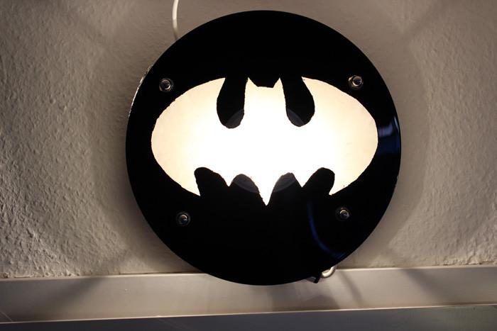 Diy Schallplatten  Die Batman Vinyl Lampe