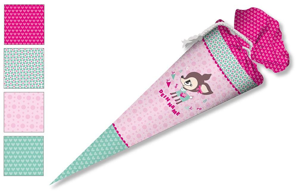 Diy Schultüte  DIY Nähset Schultüte Nikiko HafenKitz Pink zum