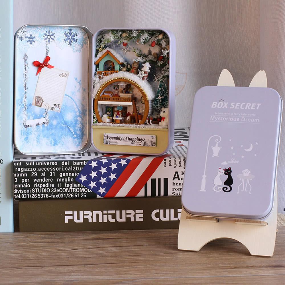 Diy Sexspielzeug  Beste DIY Haus Miniatur Kit Dollhouse Creative 3 Verkauf