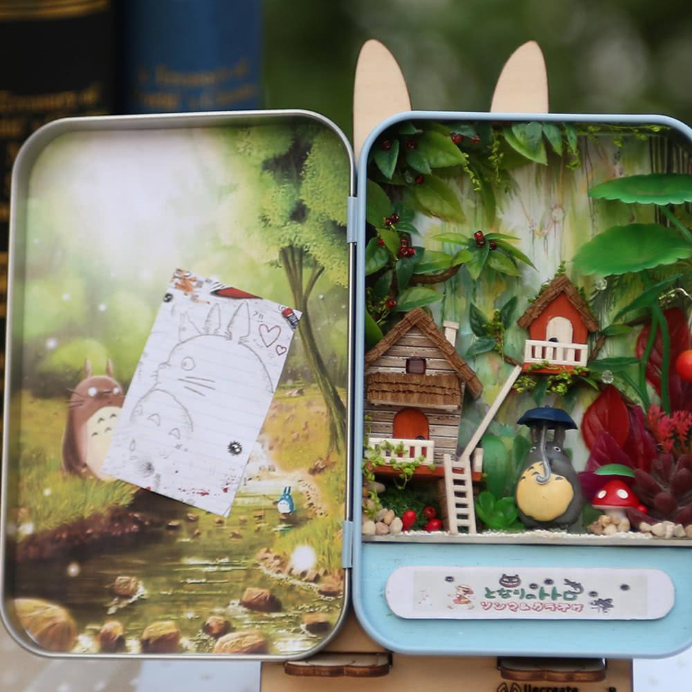 Diy Sexspielzeug  Beste DIY Haus Miniatur Kit Dollhouse Creative 2 Verkauf
