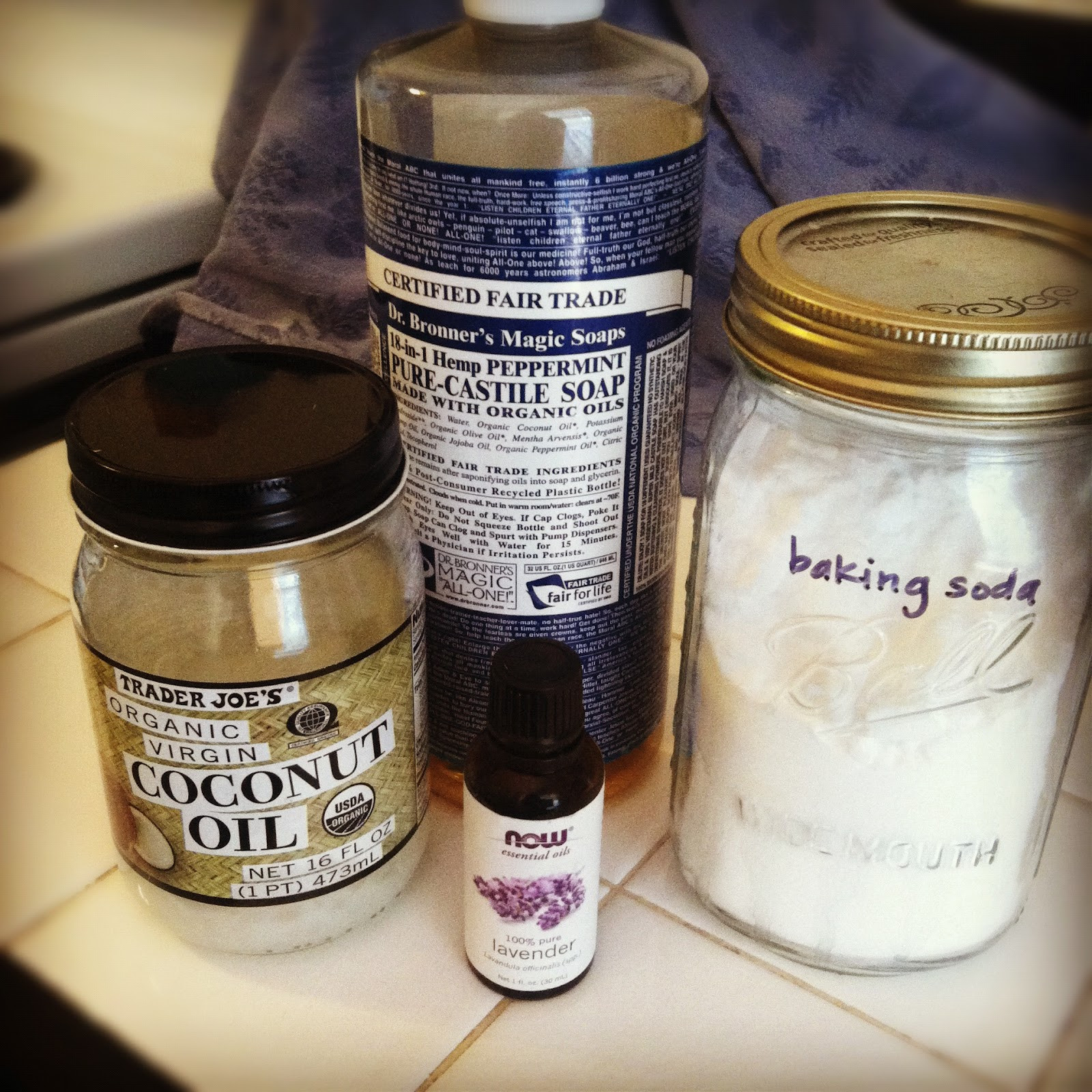 Diy Shampoo  CanCan DIY Shampoo with castile soap and baking soda