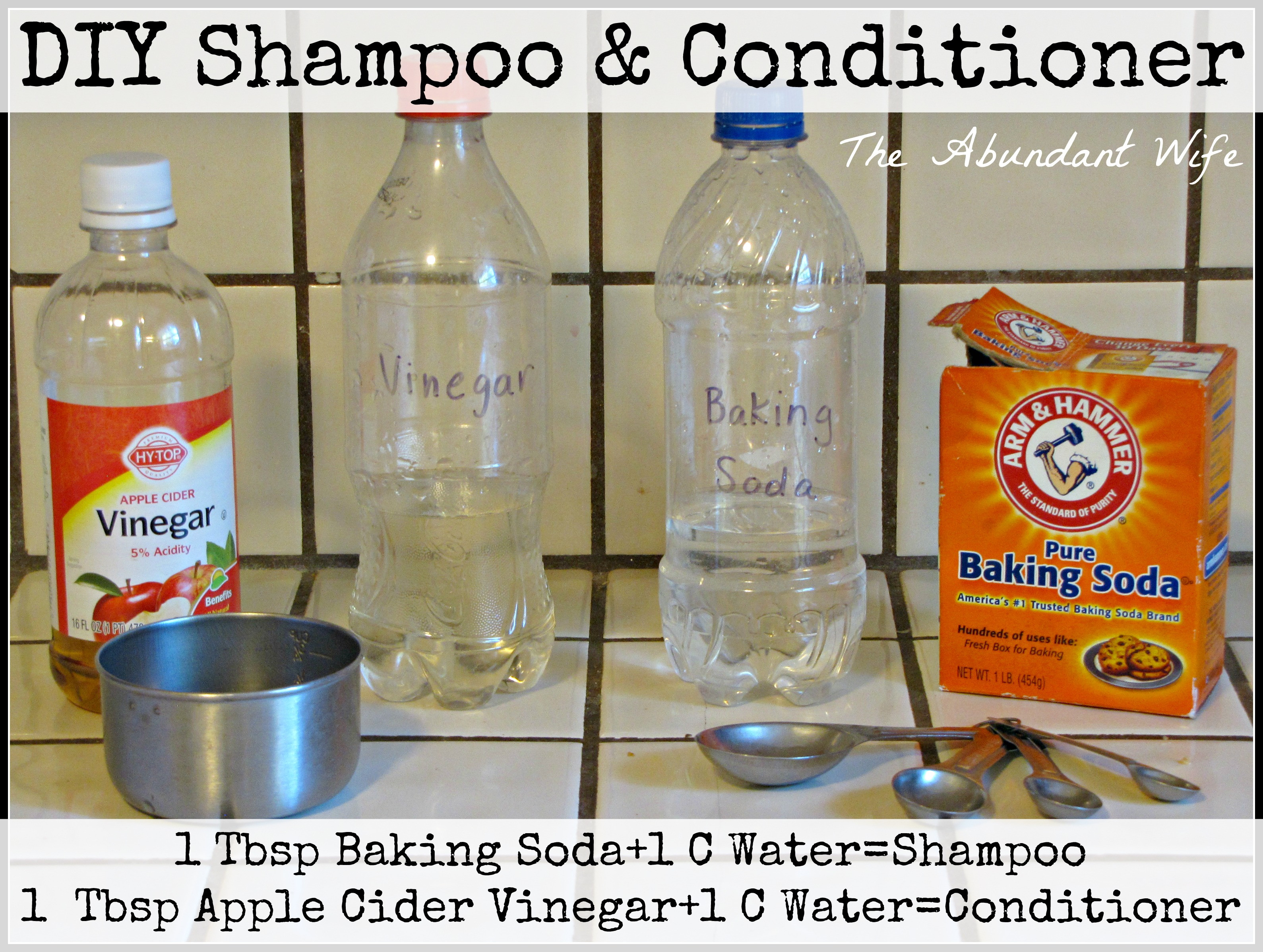 Diy Shampoo  How to Make DIY Shampoo & Conditioner