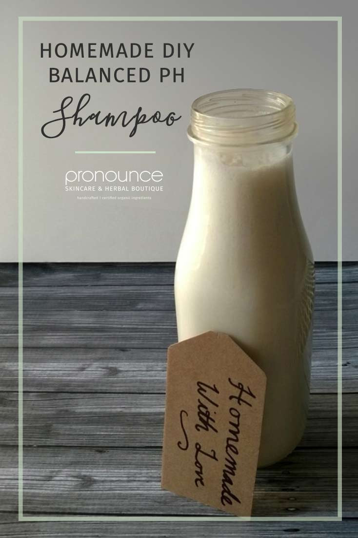 Diy Shampoo  Moisturizing DIY PH Balanced Shampoo • pronounceskincare