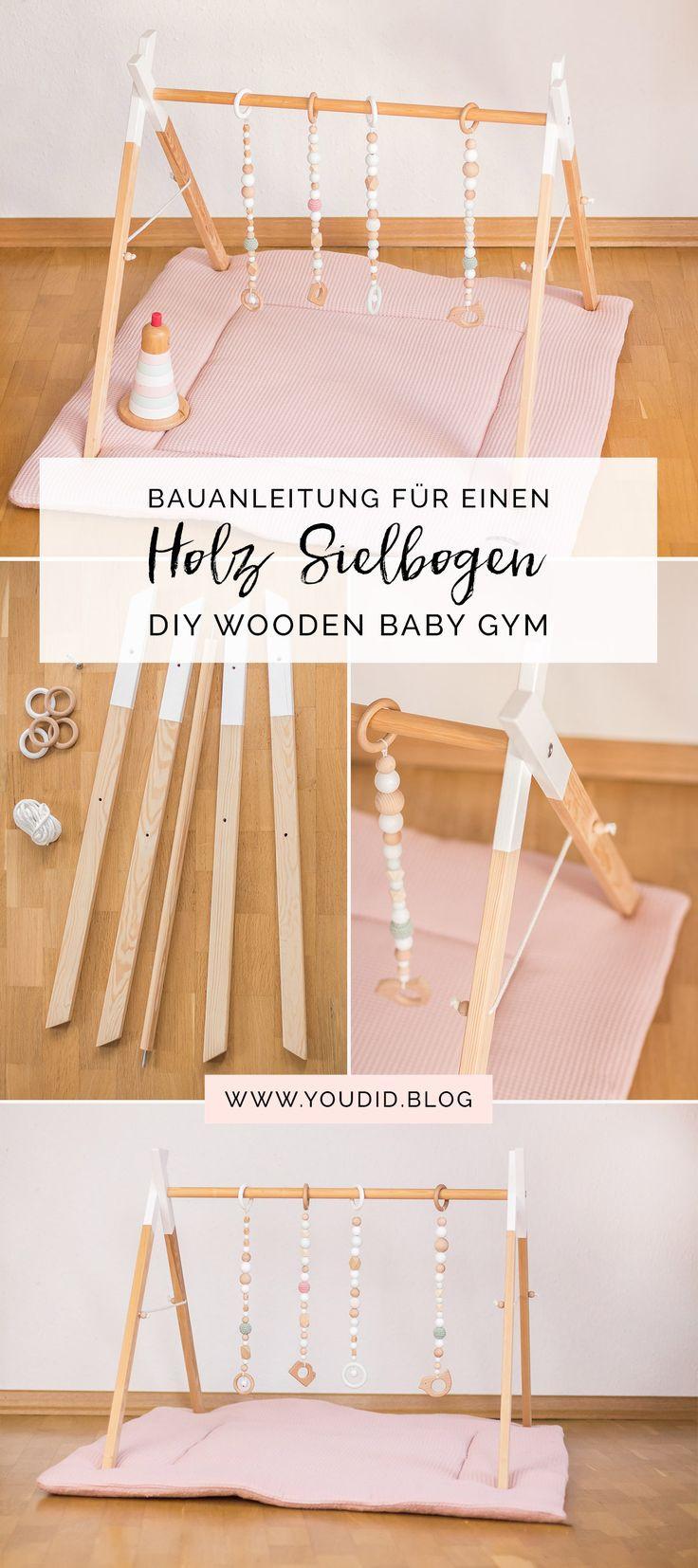 Diy Spielbogen  Best 25 Baby ideas on Pinterest