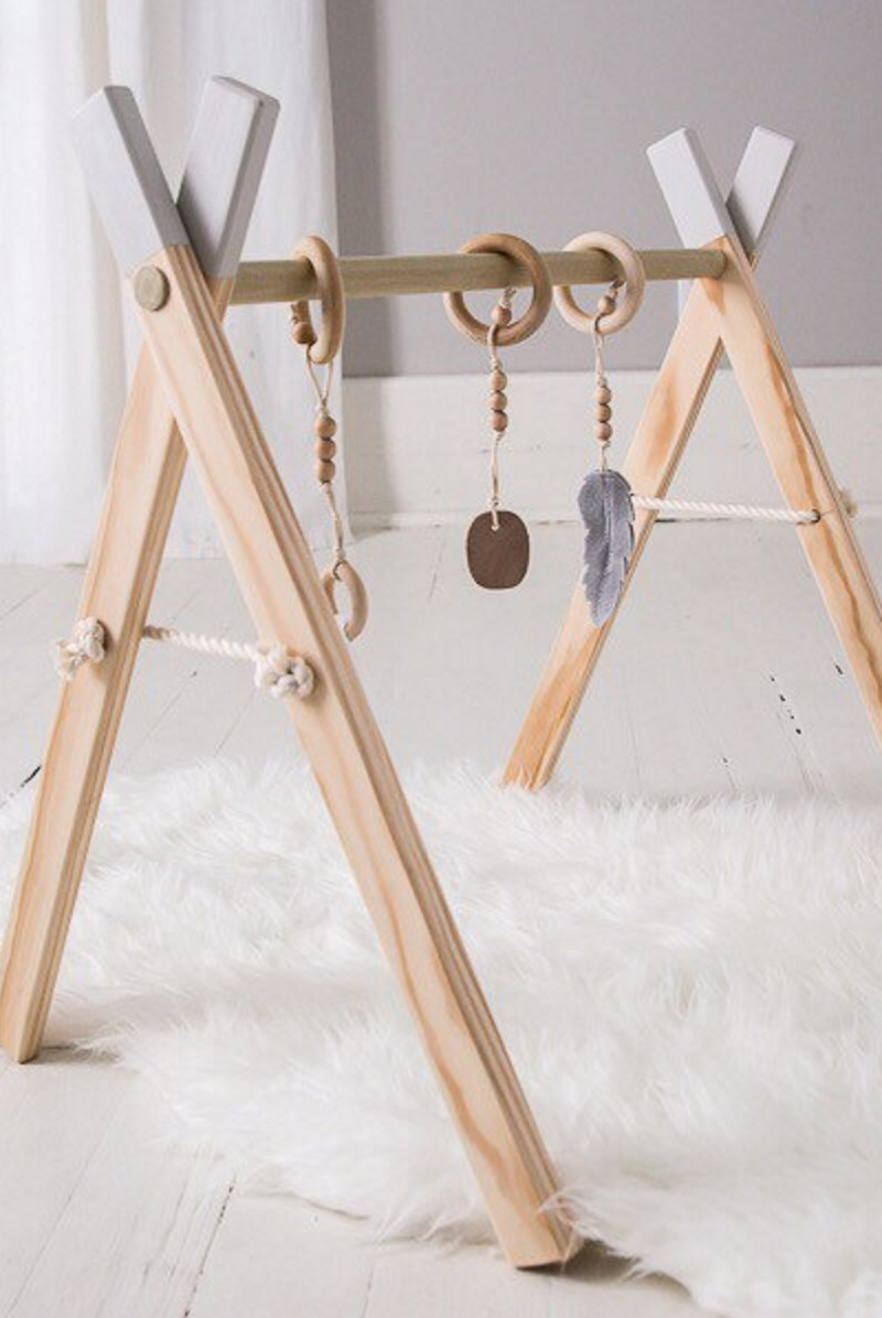 Diy Spielbogen  Baby Play Gym With Mobile Accessories