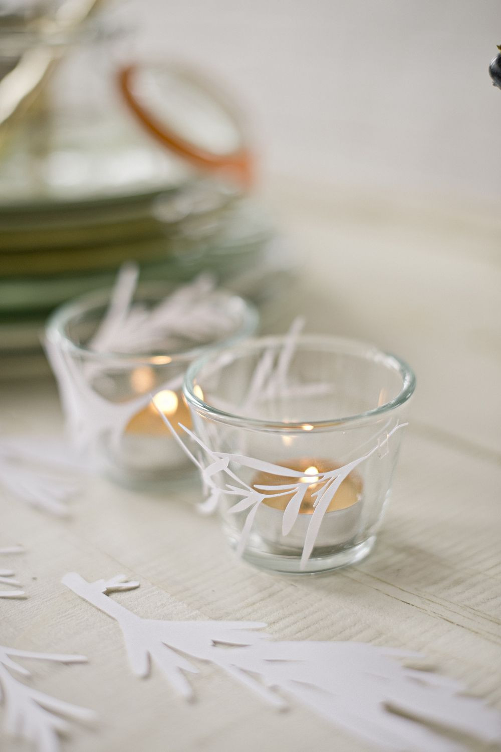 Diy Teelicht  DIY Teelicht Deko Christmas