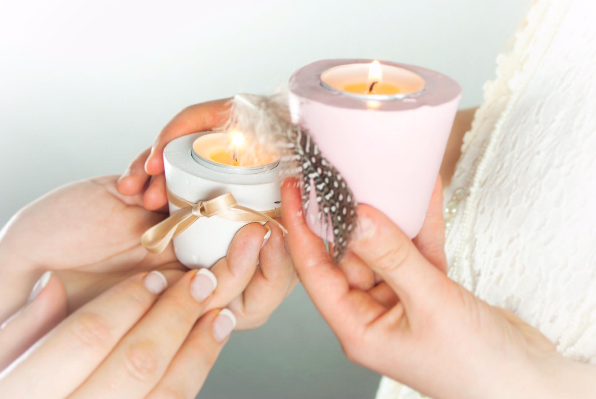 Diy Teelicht  Gips Teelicht DIY Deko ganz leicht foodwerk