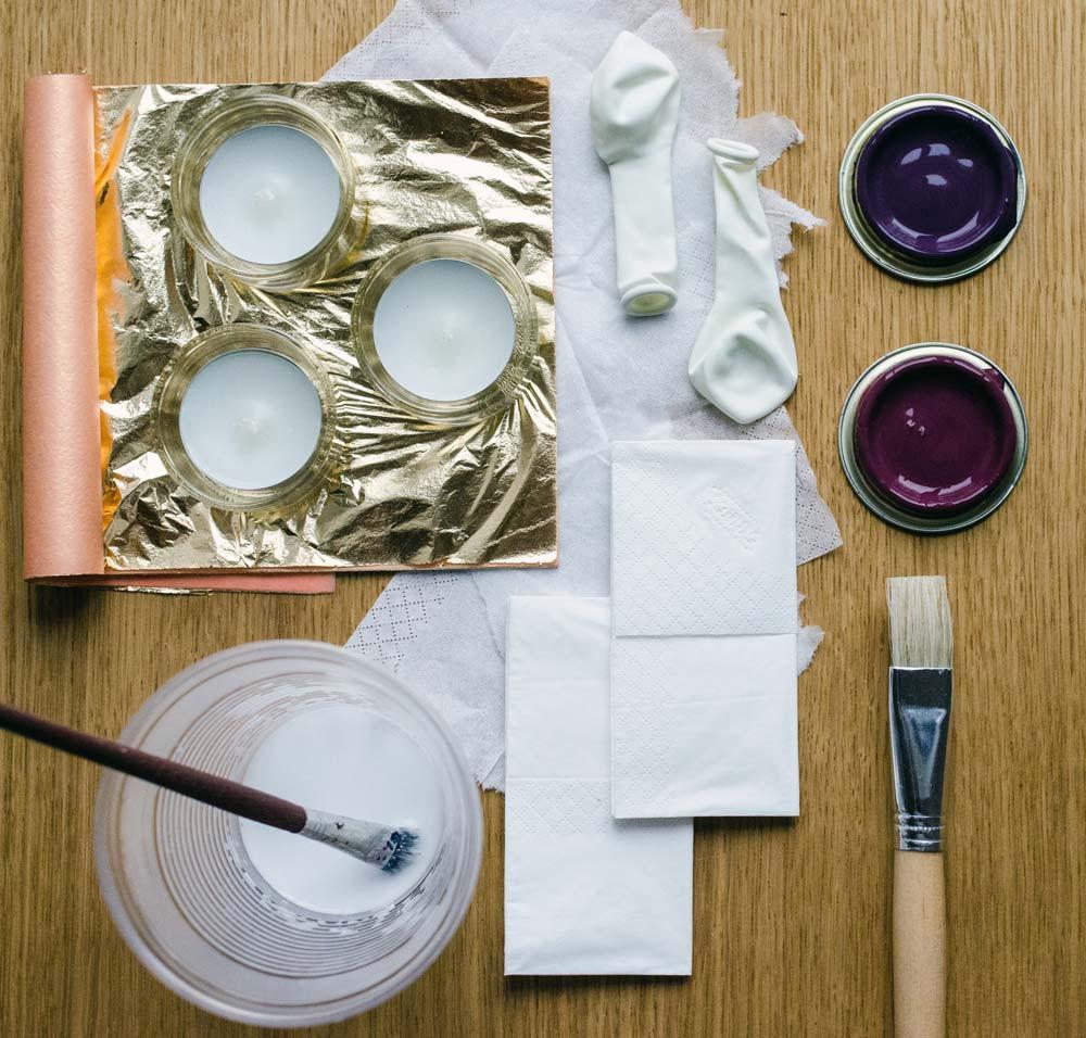 Diy Teelichthalter  Zum Valentinstag oder einfach so DIY Teelichthalter in