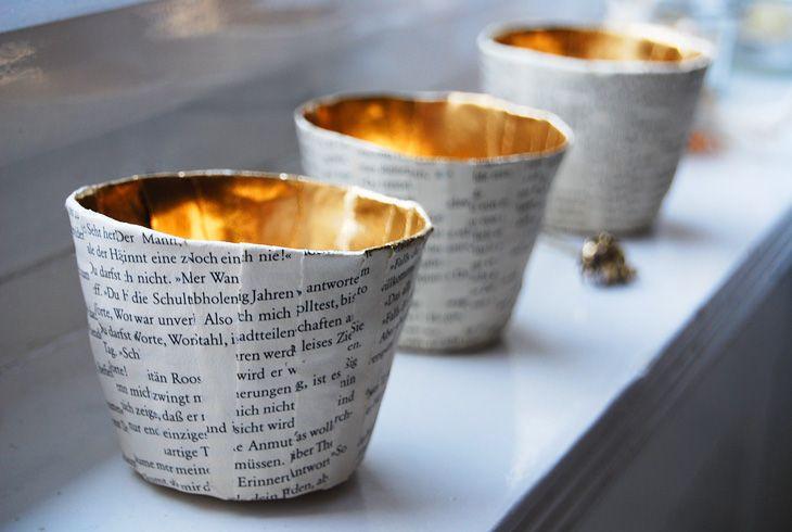 Diy Teelichthalter  20 best images about concrete vase on Pinterest