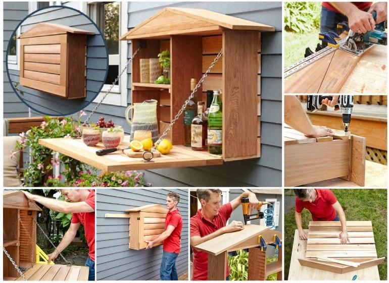 Diy Theke  Möbel aus Paletten 105 fantastische Ideen zum Nachbauen