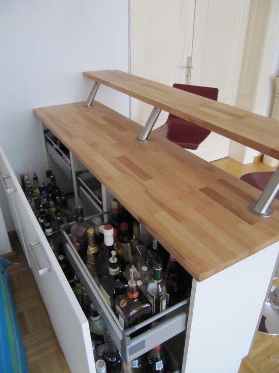 Diy Theke  IKEA Hackers expedit bar DIY & Crafts