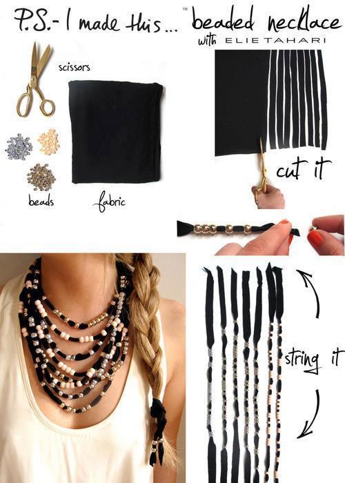 Diy Trend  20 Interesting DIY Fashion Ideas