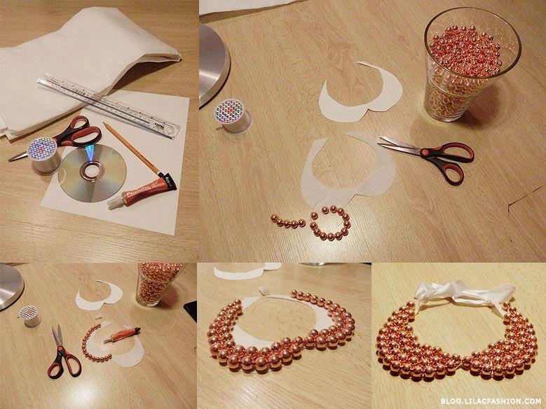 Diy Trend  21 DIY Collar Necklace Ideas