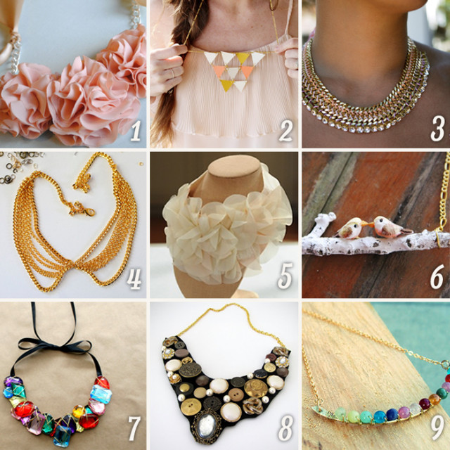 Diy Trend  DIY Fashion 15 Amazing Necklace