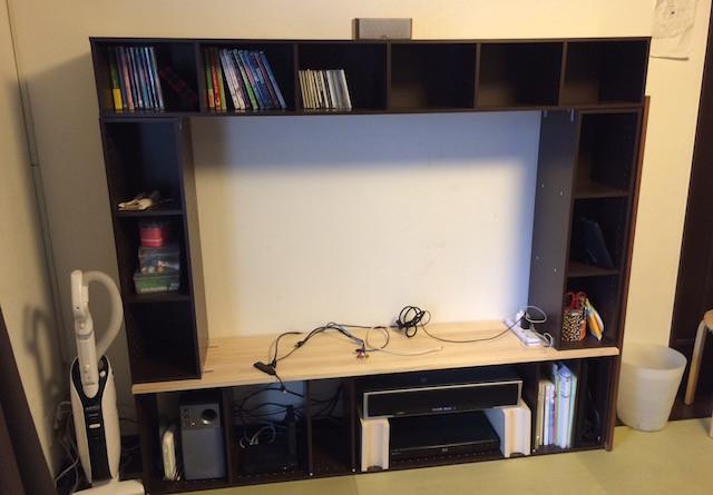 Diy Tv Board  カラーボックスを使って自作テレビボードをDIYしてみた。だって大掃除だし
