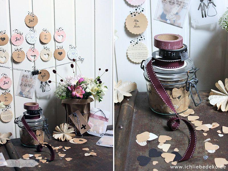 Diy Vintage Deko  Vintage Hochzeitsdeko ganz einfach selbst gestalten • Ich