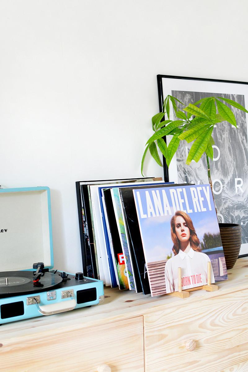 Diy Vinyl  DIY vinyl record storage
