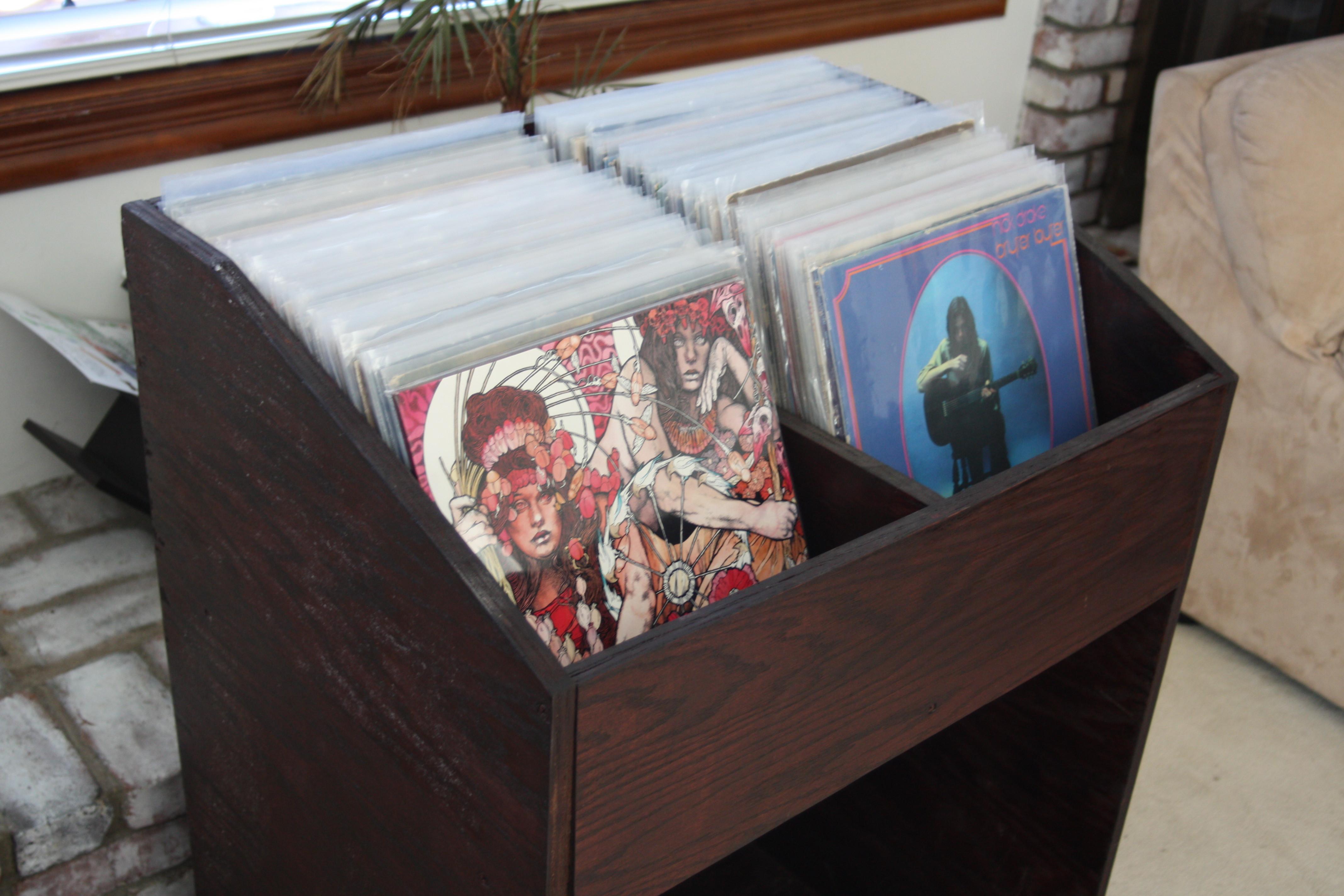 Diy Vinyl  I Built A Vinyl Record Shelf JohnVantine