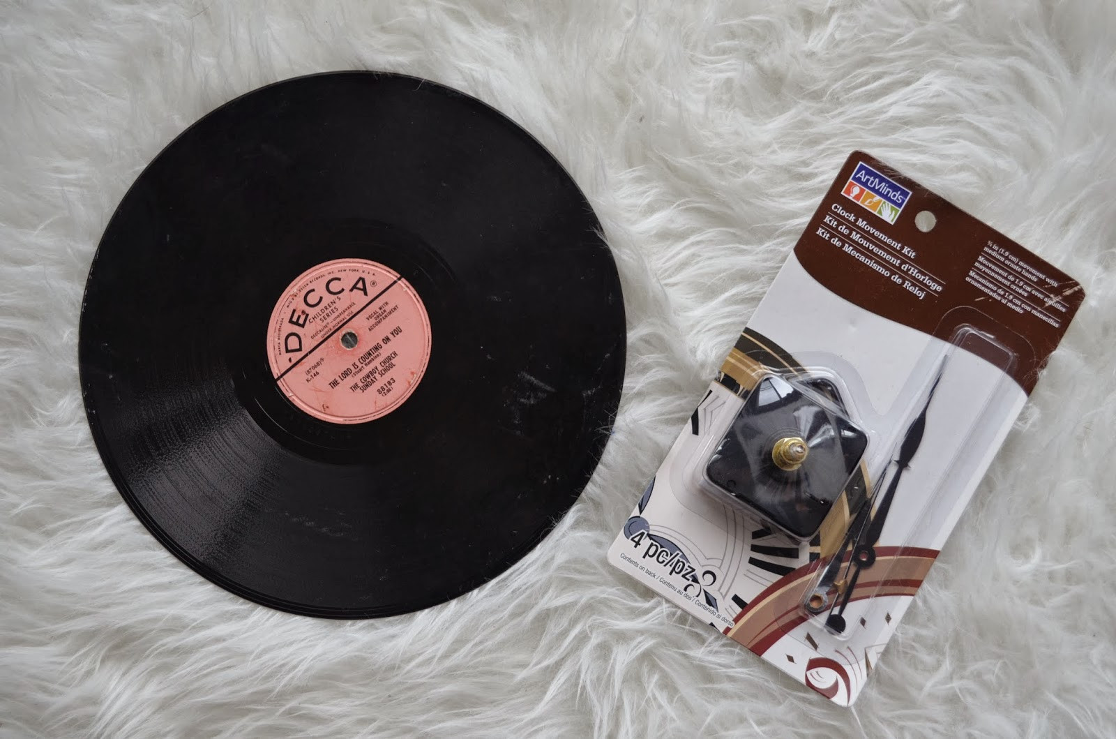 Diy Vinyl  DIY Vinyl Record Clock DIY Huntress